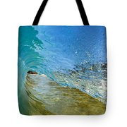 Under Breaking Wave Tote Bag