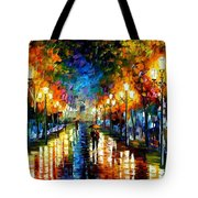 Under Brown Umbrella Tote Bag