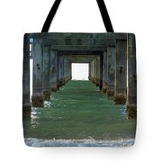 Under Clearwater Pier 60 Tote Bag