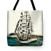Under Full Canvas Tote Bag