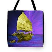 Under Golden Sails Tote Bag