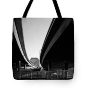 Under Interstate 5 Sacramento Tote Bag