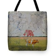 Under My Little Red Tree Tote Bag
