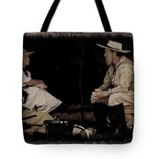 Under My Tent Tote Bag