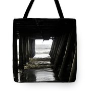 Under Santa Monica Pier Tote Bag