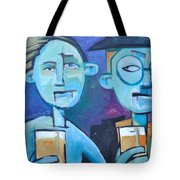 Under Scrutiny Tote Bag