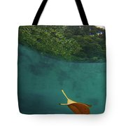 Under The Blue Tote Bag