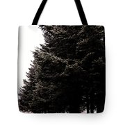 Under The Blue Spruce Tote Bag