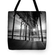 Under The Boardwalk Bw 1 Tote Bag
