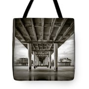 Under The Boardwalk Tote Bag by Dave Bowman
