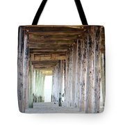 Under The Boardwalk Except It's The Pier Tote Bag