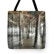 Under The Boardwalk Into The Light Tote Bag