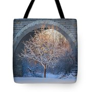 Under The Bridge, A Winter's Song Tote Bag