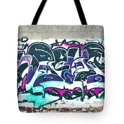 Under The Bridge Graffiti 5 Tote Bag