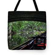 Under The Bridge Painted Tote Bag