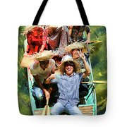 Under The Bridge Vietnamese Smiles  Tote Bag