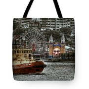 Under The Bridge Tote Bag by Wayne Sherriff