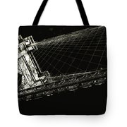 Under The Brooklyn Tower Tote Bag