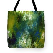 Under The Canopy- Abstract Art By Linda Woods Tote Bag