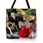 Under The Christmas Tree Tote Bag