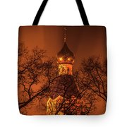 Under The Cover Of Fog Tote Bag