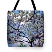 Under The Dogwood Tote Bag