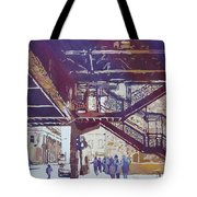 Under The El Tote Bag