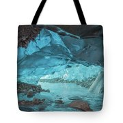 Under The Glacier Tote Bag
