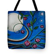 Under The Glowing Moon Tote Bag