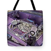 Under The Hood 66 Impala_1b Tote Bag