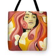 Under The Influence Of Alphonse Mucha Tote Bag