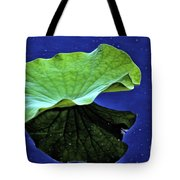 Under The Lily Pad Tote Bag