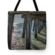 Under The Naples Pier Tote Bag