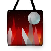 Under The Night Sky Tote Bag