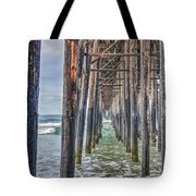 Under The Oceanside Pier Tote Bag