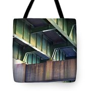Under The Overpass Tote Bag