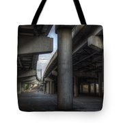 Under The Overpass I Tote Bag by Break The Silhouette