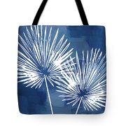 Under The Palms- Art By Linda Woods Tote Bag