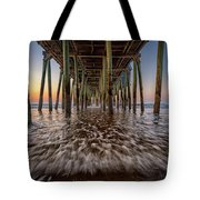 Under The Pier At Old Orchard Beach Tote Bag