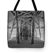 Under The Pier Florida Tote Bag