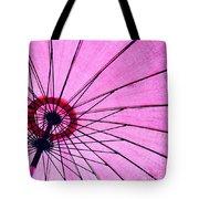 Under The Pink Umbrella Tote Bag