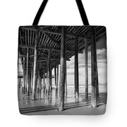 Under The Pismo Pier Tote Bag
