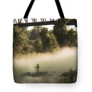 Under The Rainbow  Tote Bag by Kim Loftis