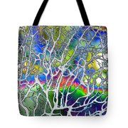 Under The Sea Abstract Tote Bag