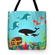 Under The Sea-jp2988 Tote Bag