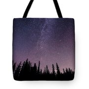 Under The Stars - Barrier Lake Tote Bag by Adnan Bhatti