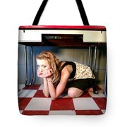 Under The Table Tote Bag