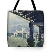 Under The Tappan Zee Bridge Tote Bag