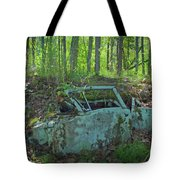 Under The Trail Tote Bag