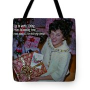 Under The Tree Quote Tote Bag